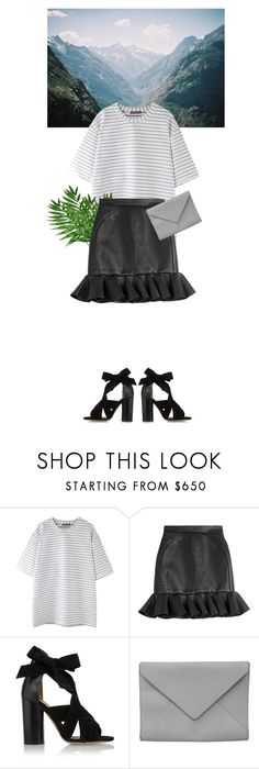 """""""#ContestOnTheGo #ContestEntry"""" by riskiarrafida ❤ liked on Polyvore featuring David Koma, Isabel Marant, Ann Demeulemeester, contestentry and ContestOnTheGo"""