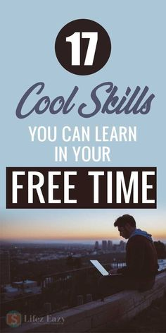 17 Cool Skills you can learn in your free time 17 Cool Skills you can learn in your free time,Free Online Education Do you want to learn some cool skills online without paying any. Learning Websites, Educational Websites, Learning Skills, Educational Crafts, Learning Quotes, Educational Technology, Skills To Learn, Life Skills, Learn A New Skill