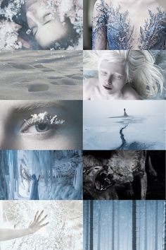 snow queen aesthetic
