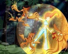 She did not know but she was protected by her innocence inner holy light flame ( bloom ) Winx Club, Ideal Boyfriend, Bloom, The Shining, Season 1, Supernatural, Fairy Tales, Cartoons, Childhood