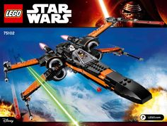 Star Wars - The Force Awakens - Poe's X-Wing Fighter [Lego 75102]