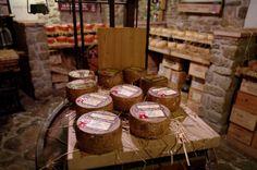 Cheese Cave @Antica Macelleria Falorni - Greve in Chianti, Tuscany, Italy