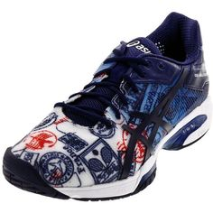 b144135fa Men`s Gel-Solution Speed 3 Limited Edition Paris Tennis Shoes. Asics MenFrench  OpenRoland ...