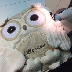 Personalized Owl Pillow.