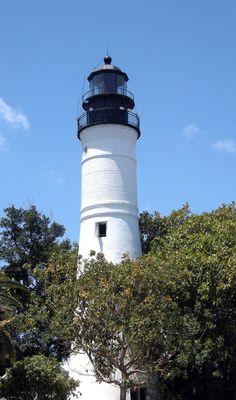Key West Lighthouse, built in 1847. ◆Key West, Florida - Wikipedia http://en.wikipedia.org/wiki/Key_West,_Florida #Key_West