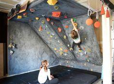 DIY rock climbing wall for kids    followpics.co