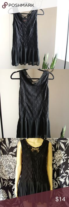 Black Fashion Dress Cute & lightweight // can be worn as a mini dress or top. Dresses