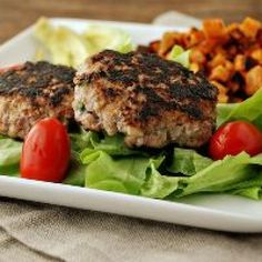 Apple Mustard Pork Burgers - Strong Healthy Women
