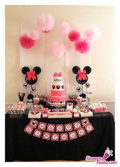 Bonitas ideas para tu próxima fiesta de Minnie Mouse. Consigue todo para tu fiesta en nuestra tienda en línea.