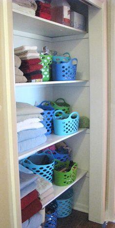 Ellie's awesome linen closet