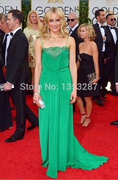 New Mint Spaghetti Straps Evening Celebrities Red Carpet Dresses 2015 vestidos famosos Chiffon Backless Chiffon Party Gowns