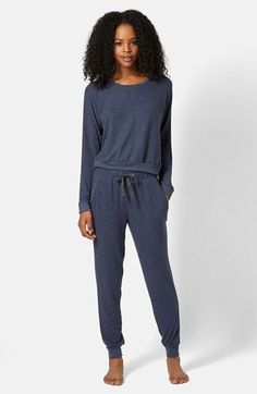 Topshop Lounge Sweater & Matching Pants | Nordstrom