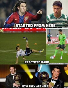 Messi and Ronaldo Cristiano Vs Messi, Messi Vs Ronaldo, Cristiano Ronaldo Quotes, Ronaldo Juventus, Neymar, Soccer Memes, Football Quotes, Soccer Quotes, Cr7 Quotes