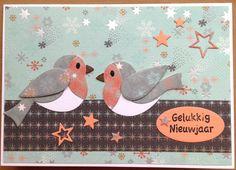 Kaartenblog van Tineke: Vogels en sterren