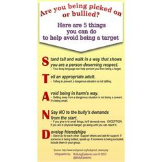 Are you being picked on or bullied? Here are 5 things you can do to help avoid being a target. ************************************************ http://LavenderLaneSeries.com #bully #bullybooks #OvercomeBullying #StopBully #SweetOldSadie #childrenbullybooks #funchildrenbooks #JoyceMiller #ChildrenBooksAuthor #LavenderLaneSeries #InvisibleJim #rhymingpicturebooks #recommendedchildrenbooks #goodbooksforchildren #goodthoughts #gooddeeds #StoriesAboutBullying #AntiBullyBooks #BullyingPrevention…