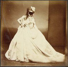 Virginia Verasis de Castiglione (1837-1899), Jean-Louis Pierson (1822-1913), Christian Bérard (1902-1949) - Un dimanche, entre 1861 et 1866