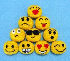 Crochet Emojis!!!