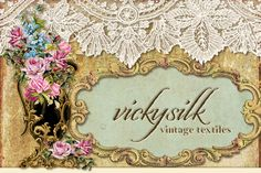 My Shop items in vickysilk vintage textiles store on eBay!