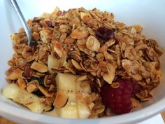 Best home made granola ever! #Granola