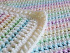 Ravelry: Starlight Baby Blanket pattern by Barbara Smith