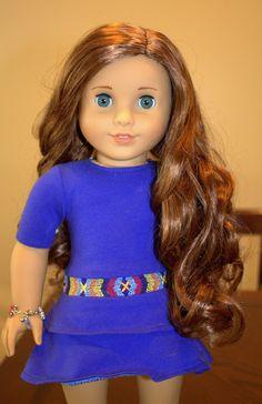 Marie-Grace w/ Saige's wig