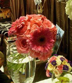 Pink Gerbera and Rose Bouquet