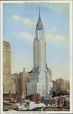 Detroit Publishing Company (American). Chrysler Building, New York City The Metropolitan Museum of Art, New York. The Jefferson R. Burdick Collection, Gift of Jefferson R. Burdick (Burdick 325, R323.10)