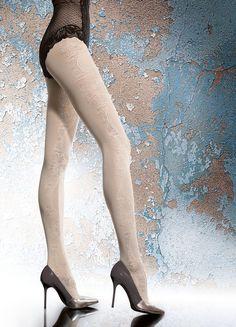 "Ladies Womens Sheer Matt HOLD UPS /""Camilla/"" 8 Den Silicone Lace Top"