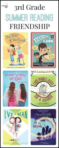 3rd Grade Summer Reading List (age 8 - 9) - Friendship   Imagination Soup