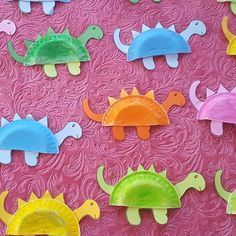 paper plate dinosaur craft | Crafts and Worksheets for Preschool,Toddler and Kindergarten