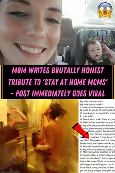 #Mom #Writes #Brutally #Honest #Tribute #Stay #Home #Post #Immediately #Viral Brutally Honest, Have A Day, Time Tattoos, Stay At Home Mom, How To Make Breakfast, Acrylic Nail Designs, Well Dressed, Curly Hair Styles, Eye Makeup