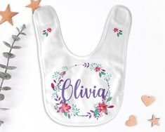 Marima Hipster Llama Personalized Scarf Bib Feeding /& Teething Fancy Baby Bibs and Burp Cloth Polyester Cotton