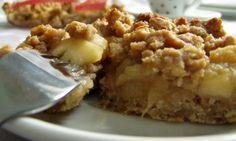 Jablečno-hruškový celozrnný koláč