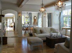 traditional living room by Howard Bankston & Post
