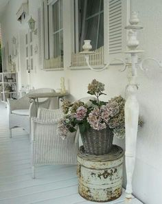 Porch Chic. What if winter is not a place outside?