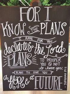 Bible verse canvas, Chalkboard inspired. -Note: This design was inspired by someone else. I do NOT take credit for