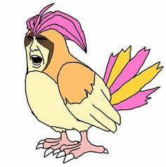 Pidgeotto: | What If Nic Cage Was Every Single One Of The Original 151 Pokemon?