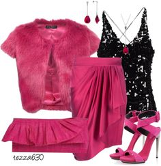 """""""Pretty In Pink Contest"""" by tezza630 on Polyvore  02.27.2013"""