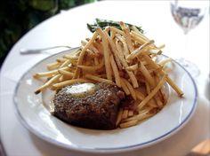 Thomas Keller's Bouchon Steak frites