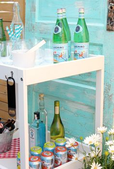 DIY Ikea Bar Cart Ha