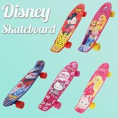 Peny Board Plastic Mini Cruiser Mickey Skateboard Long Board Banana Retro Skate Longboard Complete Skateboards four-wheel skates