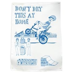 Don't Dry this at Home Tea Towel - Urban Cave
