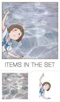 """""""Why can't I swim"""" by voliegrl ❤ liked on Polyvore featuring art"""
