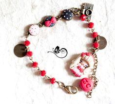 Un preferito personale dal mio negozio Etsy https://www.etsy.com/it/listing/216520978/bracciale-pin-up-bracciale-fimo-doll