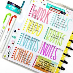 Another month started which means another month to track events using these trendsetter to do sheets! This was a huge hit last time around,… happy planner