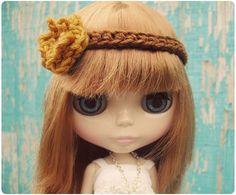 Blythe Headband by Gleeful Things, via Flickr