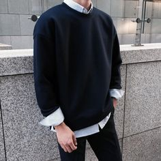 This shit but with regular white shirt and high black with white socks looks dope Korean Fashion Men, Boy Fashion, Mens Fashion, Fashion Outfits, Boy Outfits, Casual Outfits, Men Casual, Mens Trends, Asian Men