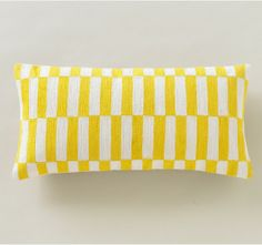 Blocks Citrine Pillow