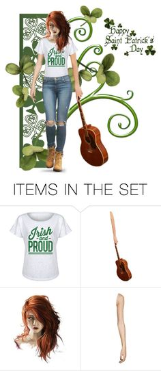 """☘ Luck Of The Irish ☘"" by joyce-williams ❤ liked on Polyvore featuring art"