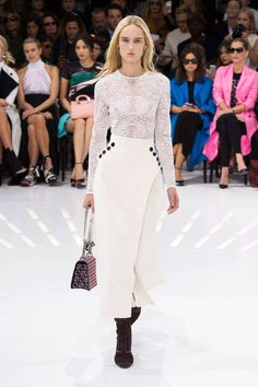 See Christian Dior and more of our top ten favorite runway shows from Spring 2015 fashion month, here: